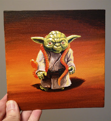 Dave Pryor Yoda figure sm