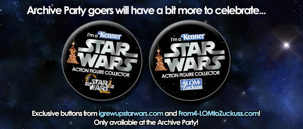 Archive party button exclusive