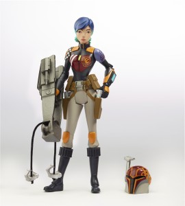 STAR WARS REBELS Sabine Figure