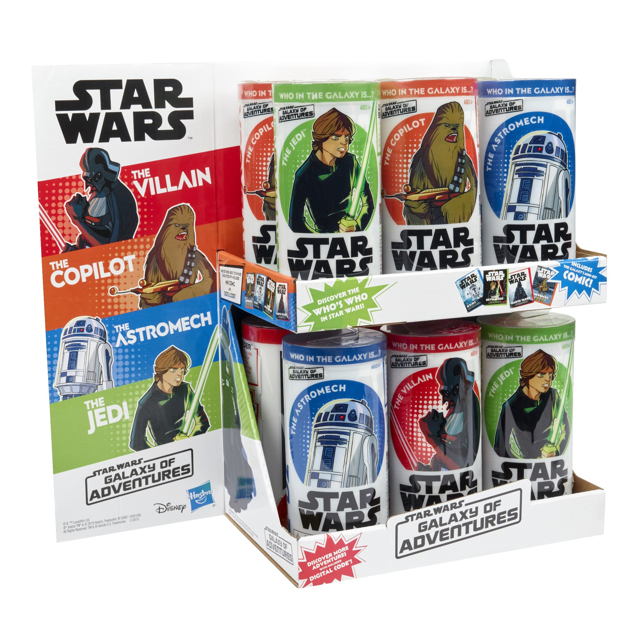 STAR WARS GALAXY OF ADVENTURES Assortment - PDQ (1)