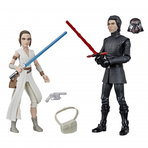 STAR WARS GALAXY OF ADVENTURES 5-INCH REY AND SUPREME LEADER KYLO REN 2-PACK - oop