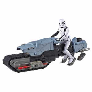 STAR WARS GALAXY OF ADVENTURES FIRST ORDER DRIVER AND TREADSPEEDER - oop (1)