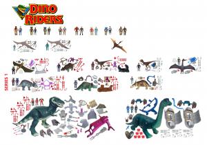 Dino Riders AF 1988 V2