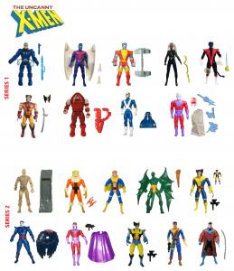 Uncanny X-Men AF 1991 - 1992