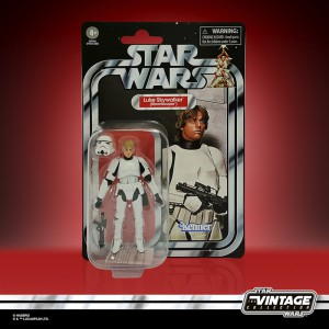star wars the vintage collection 3.75-inch luke skywalker (stormtrooper) figure - in pck-sm
