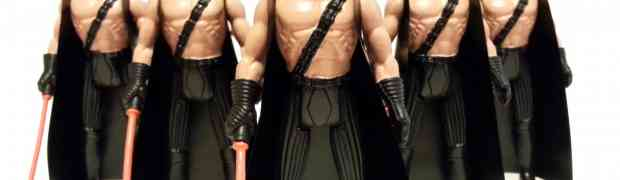 Kaboom Toys' Darth Macho and Friends
