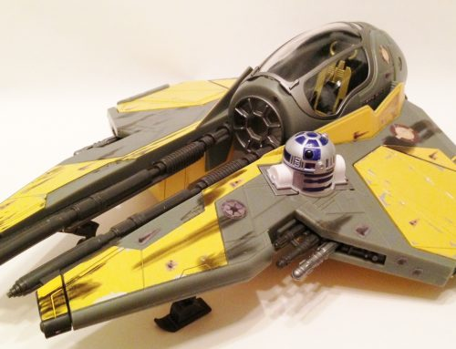 The Action Figure History of Episode III's Jedi Starfighters