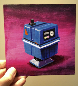 Dave Pryor Power Droid figure small