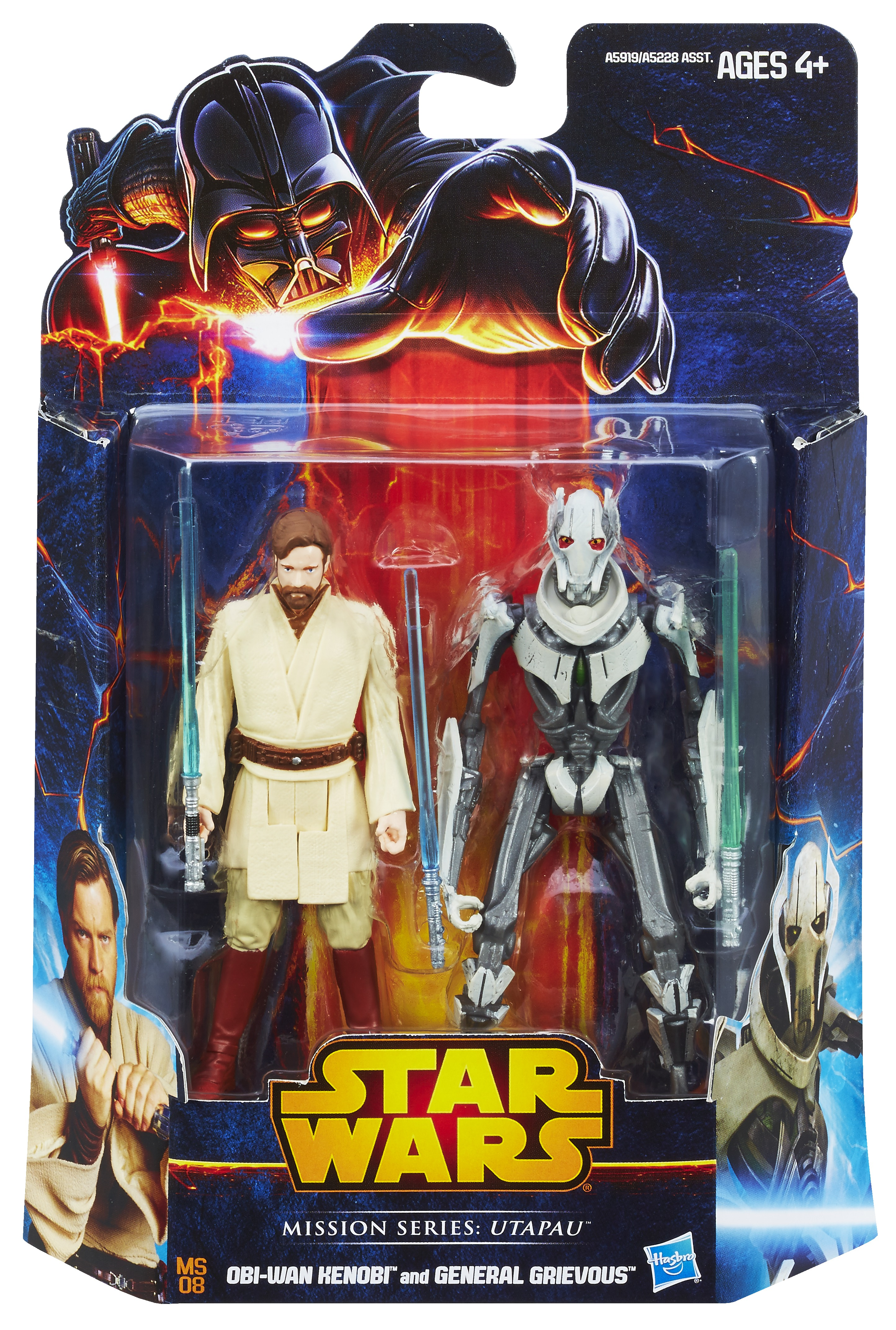 STAR WARS MISSION SERIES OBI-WAN VS GREVIOUS In Pack A5919