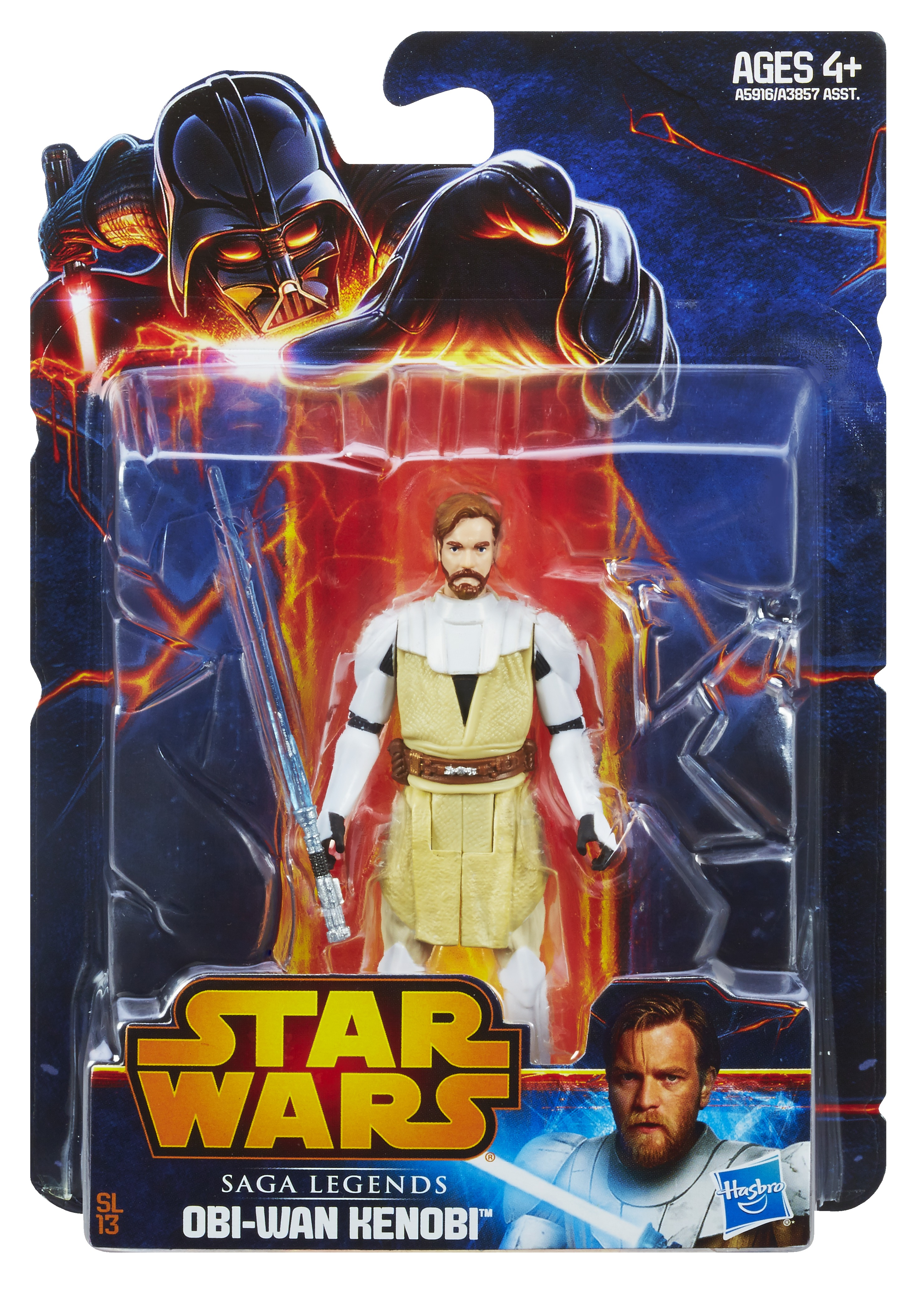 Star Wars Rebels Galaxy Saga Legends 3.75inch CW Obi-Wan In Pack A5916 (1)