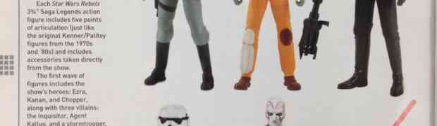 Female Figures Coming from Star Wars Rebels