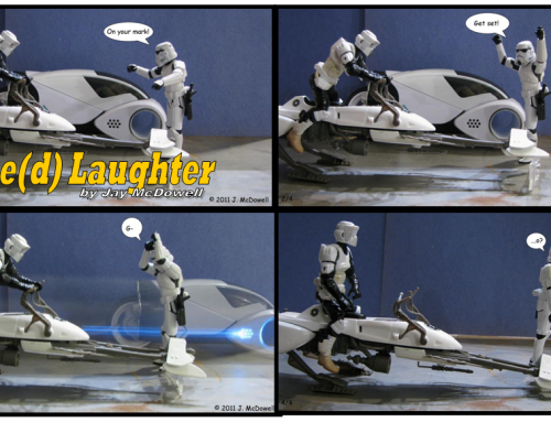 Force(d) Laughter by Jay McDowell