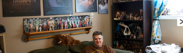 Collector Mike MacDonald featured on Starwars.com