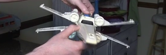 Retroblasting's Kenner X-Wing Restoration - Part 2