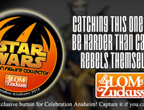 """I'm a Star Wars Action Figure Collector"" Celebration Swag #3"