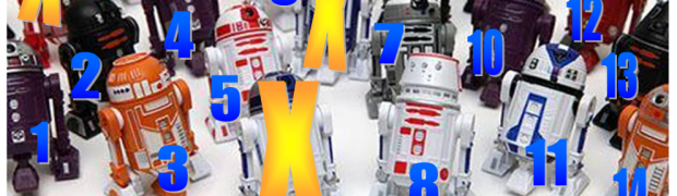 Disney's Droid Factory BAD Wave 2 Cheat Sheet