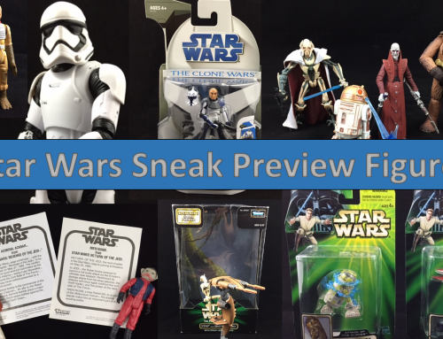 Star Wars Sneak Preview Figures – Then and Now