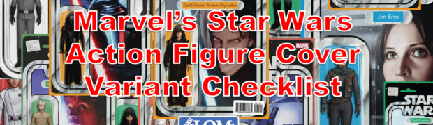 Marvel's Action Figure Cover Variant Checklist