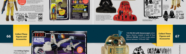 Vintage Star Wars Action Figure Newspaper Ads Kickstarter Book