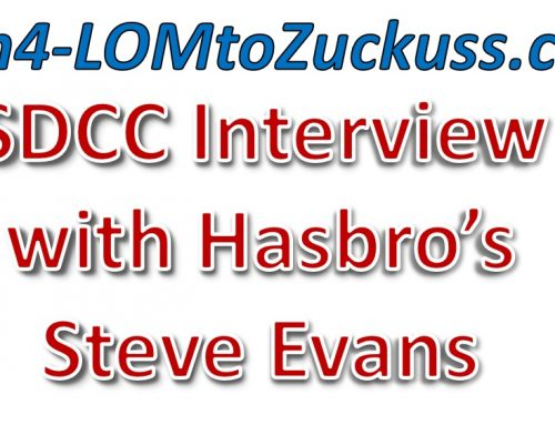 SDCC Interview with Hasbro's Steve Evans