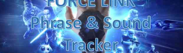 Force Link Quote and Sound Tracker