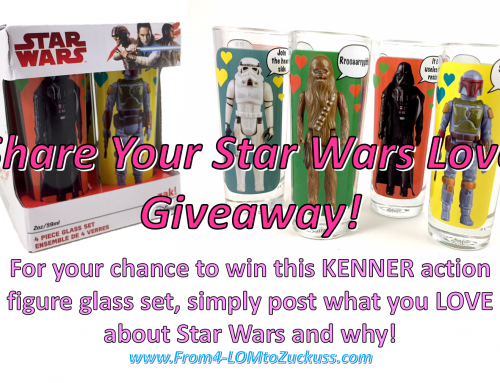 Share Your Star Wars Love Giveaway!