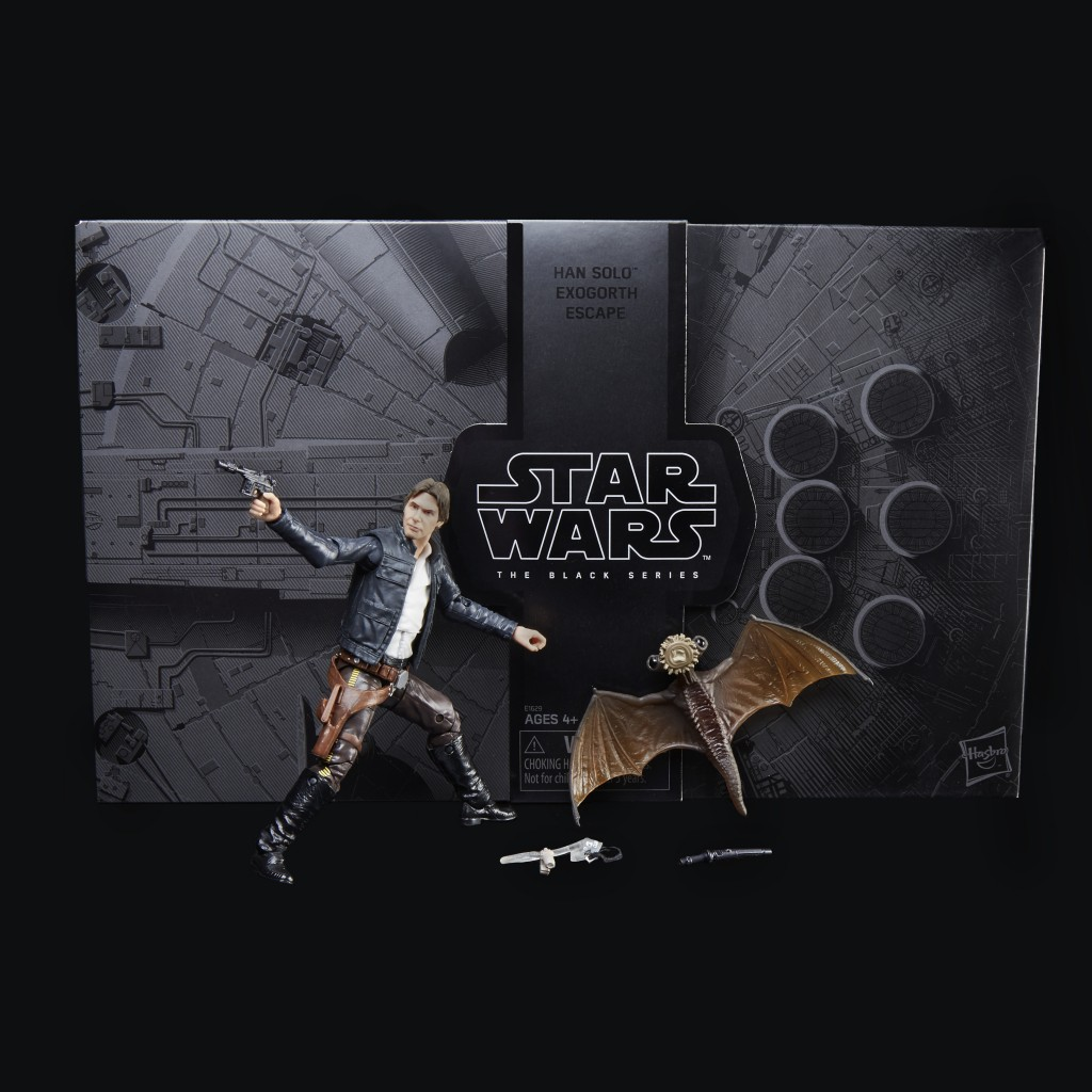 STAR WARS THE BLACK SERIES HAN SOLO AND MYNOCK Figures - oop1_v1_current