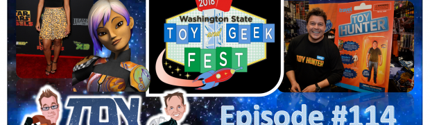 TOY RUN - Episode 114: LIVE with Tiya Sircar and Jordan Hembrough