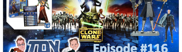 TOY RUN Episode 122 - The TOP 20 Clone Wars Figures