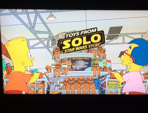 Solo Toys Featured on The Simpsons