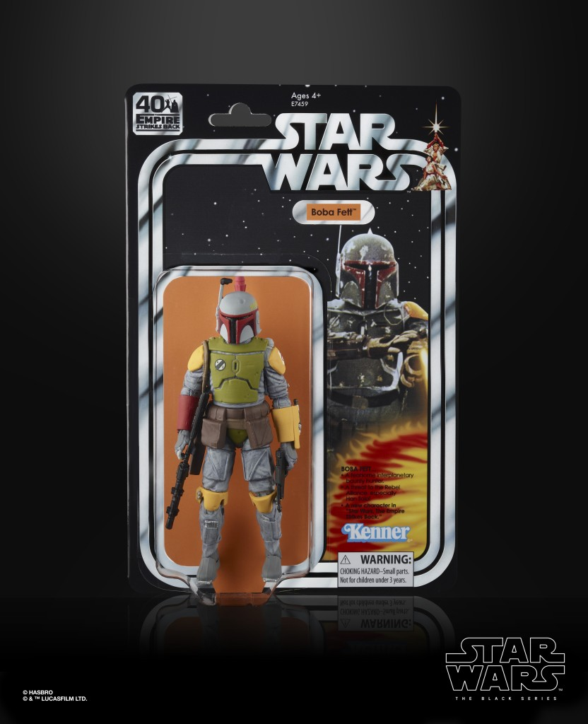 STAR WARS THE BLACK SERIES 6-INCH BOBA FETT Figure (in pck)