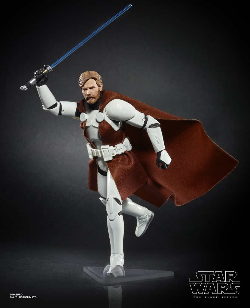 STAR WARS THE BLACK SERIES 6-INCH CLONE COMMANDER OBI-WAN KENOBI Figure (oop 2)