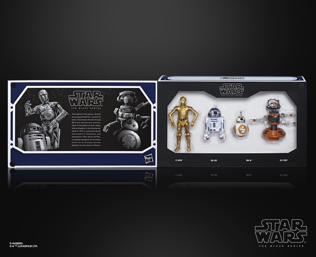 STAR WARS THE BLACK SERIES 6-INCH DROID DEPOT 4-PACK (in pck 1)