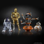 STAR WARS THE BLACK SERIES 6-INCH DROID DEPOT 4-PACK (oop 2)