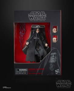 STAR WARS THE BLACK SERIES 6-INCH EMPEROR PALPATINE Figure with Throne (in pck 1)
