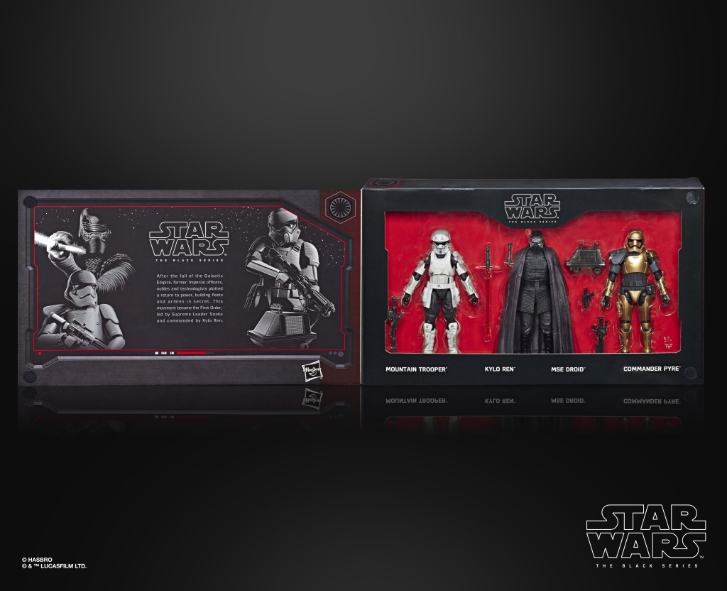 STAR WARS THE BLACK SERIES 6-INCH THE FIRST ORDER 4-PACK (in pck 1)