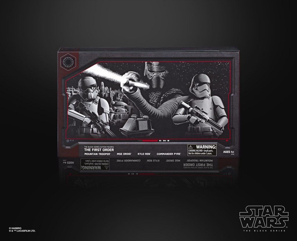 STAR WARS THE BLACK SERIES 6-INCH THE FIRST ORDER 4-PACK (in pck 2)