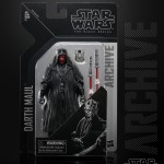 STAR WARS THE BLACK SERIES ARCHIVE 6-INCH Figure Assortment - Darth Maul (in pck)