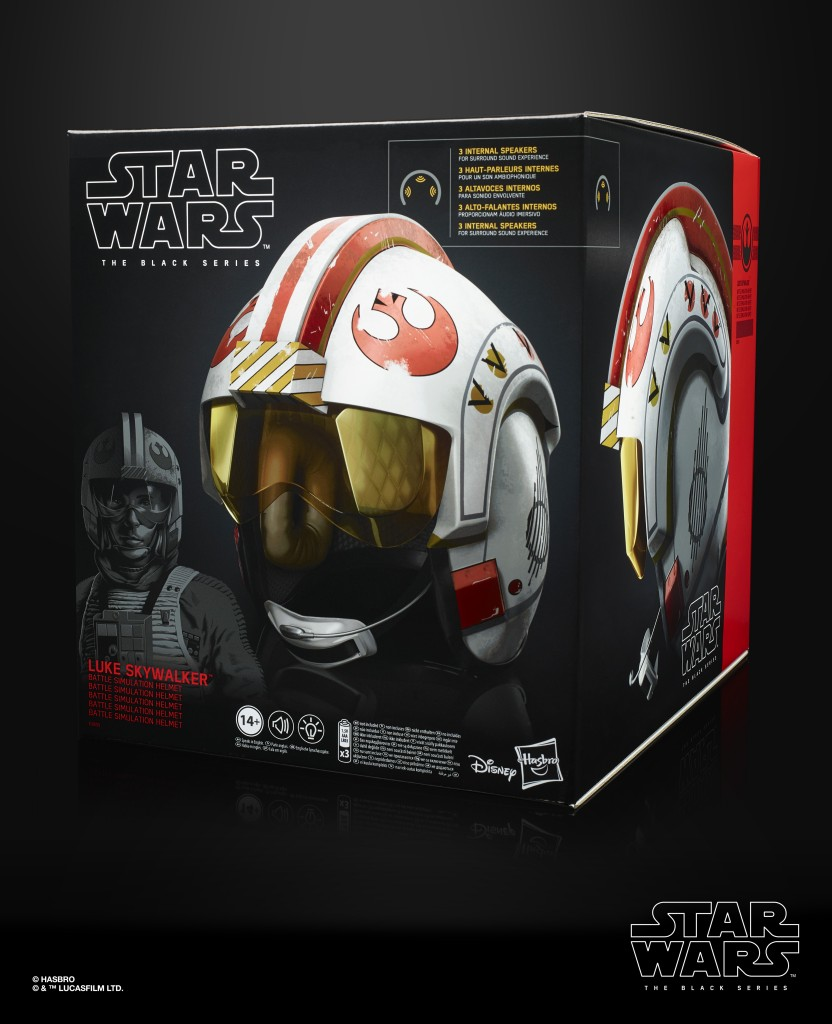 STAR WARS THE BLACK SERIES LUKE SKYWALKER BATTLE SIMULATION ELECTRONIC HELMET (in pck 2)