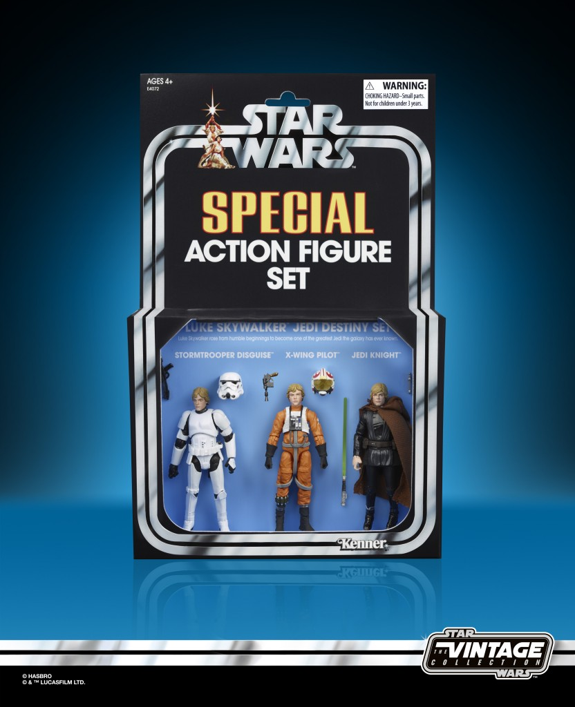 STAR WARS THE VINTAGE COLLECTION 3.75-INCH ORIGINAL TRILOGY LUKE SKYWALKER JEDI DESTINY Figure Set - in pack (1)