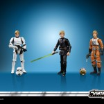 STAR WARS THE VINTAGE COLLECTION 3.75-INCH ORIGINAL TRILOGY LUKE SKYWALKER JEDI DESTINY Figure Set - oop (2)
