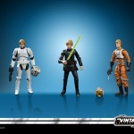 STAR WARS THE VINTAGE COLLECTION 3.75-INCH ORIGINAL TRILOGY LUKE SKYWALKER JEDI DESTINY Figure Set - oop (3)