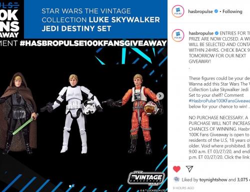 Hasbro Pulse's 100K Fans Giveaway