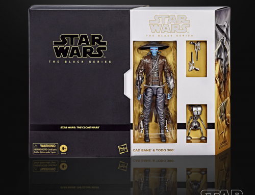 European Release of Cad Bane 2-Pack