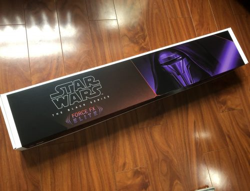 Darth Revan's Black Series Force FX Elite Lightsaber