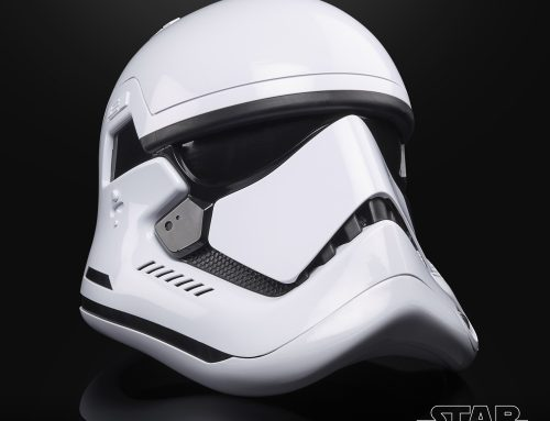 Exclusive Fan Celebration Reveal: TBS First Order Stormtrooper Helmet