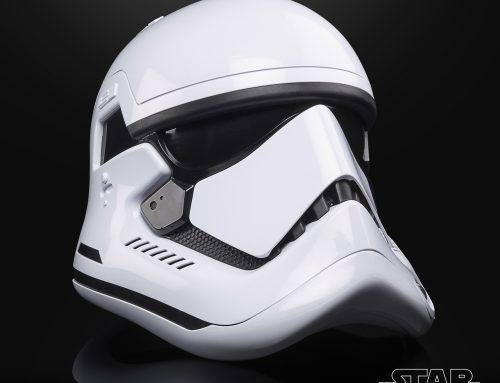 Exclusive Fan Celebration Reveal: TBS First Order Stormtrooper Helmet