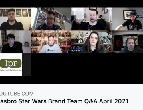 Hasbro's Star Wars Brand Team Q&A – April 2021