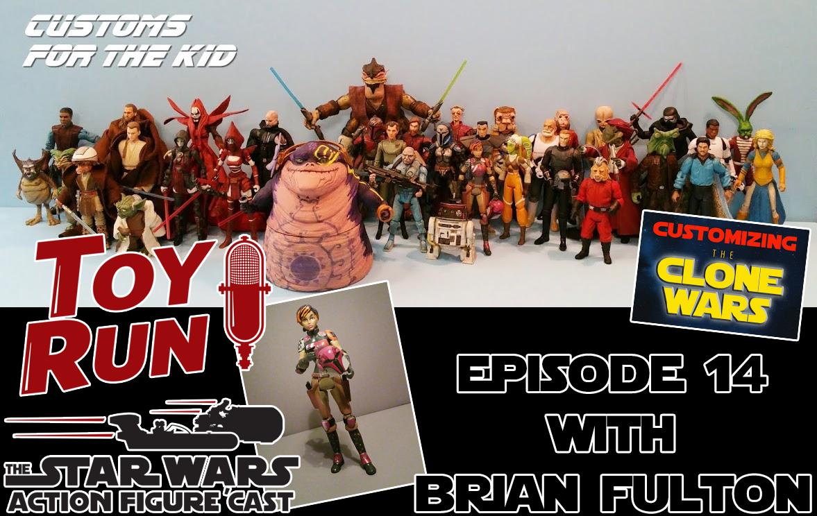 TOY RUN Episode 14: Brian Fulton – To Customize Or Not To Customize 5POAs