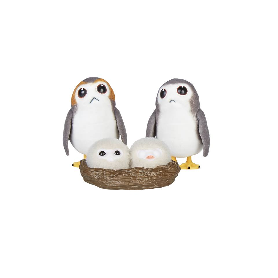 Press Release – Chewbacca and Porgs SDCC Exclusive